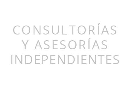 Consultorías y Asesorías Independientes